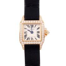 Cartier Quartz 17mm pre-owned Santos Demoiselle