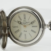 IWC Uhr neu 1982 Silber 28.8mm Römisch Quarz Nur Uhr