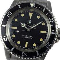 Rolex Submariner (No Date) Acero 40mm Negro Sin cifras España, Barcelona