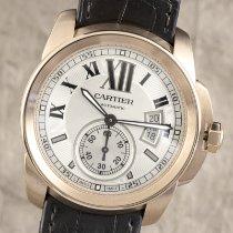 Cartier Rotgold Automatik Silber 45mm gebraucht Calibre de Cartier