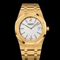 Audemars Piguet Royal Oak Jumbo Steel White