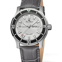 Jean Marcel new Automatic Display back Central seconds Luminous hands Limited Edition Quick Set Luminous indices 42mm Steel Sapphire crystal