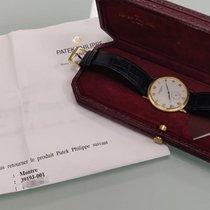 Patek Philippe Calatrava Yellow gold 33mm White Roman numerals