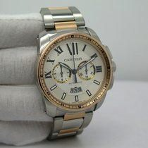 Cartier Calibre de Cartier Chronograph Gold/Steel 42mm Silver Roman numerals United States of America, Florida, Orlando