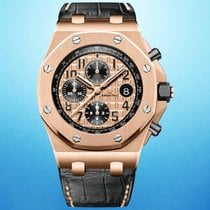 Audemars Piguet 26470OR.OO.A002CR.01 Rose gold 2015 Royal Oak Offshore Chronograph 42mm pre-owned United States of America, New York, New York