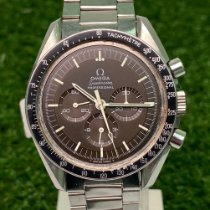 Omega Speedmaster Professional Moonwatch Acier 42mm Brun Sans chiffres