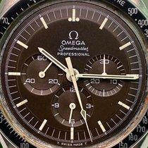 Omega Speedmaster Professional Moonwatch použité 42mm Hnědá Chronograf Ocel