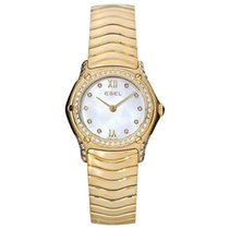 Ebel Classic Yellow gold 25mm Mother of pearl Roman numerals United States of America, New York, New York
