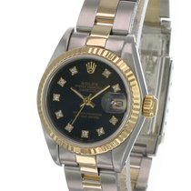 Rolex Lady-Datejust Gold/Steel 26mm Black No numerals United States of America, California, Sherman Oaks