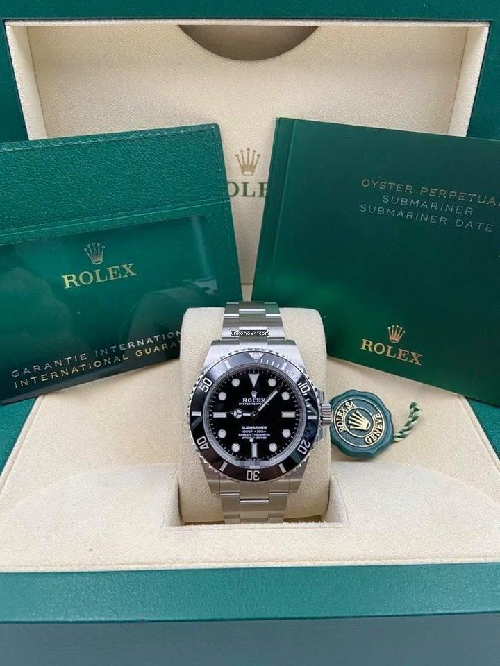Rolex Submariner (No Date) 124060 2020 new