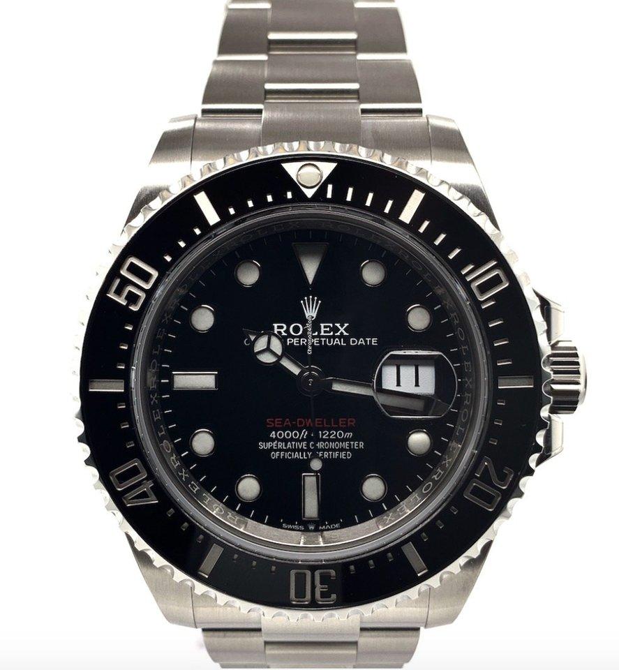 Rolex Sea-Dweller 4000 126600 2020 nov