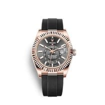 Rolex Sky-Dweller Rose gold 42mm Grey No numerals United States of America, Florida, Miami