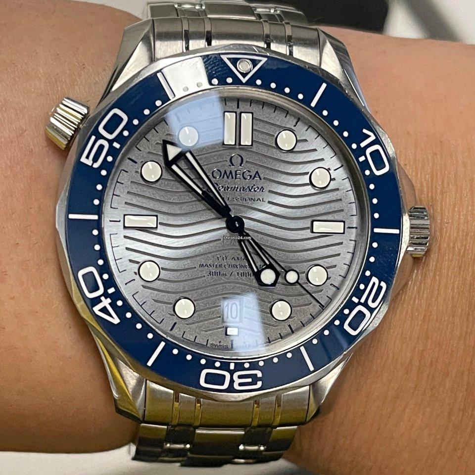 Omega Seamaster Diver 300 M 210.30.42.20.06.001 2020 подержанные