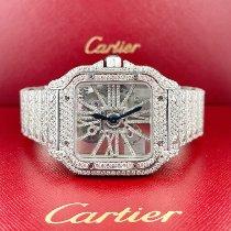 Cartier nové Automatika Skeletový Osazení drahokamy a diamanty Ocel