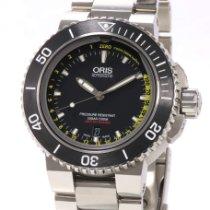 Oris Aquis Depth Gauge new 2021 Automatic Watch with original box and original papers 01 733 7675 4154-Set MB