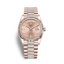Rolex Day-Date 36 Rose gold 36mm Pink No numerals United States of America, New York, New York