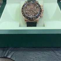 Rolex Daytona Ροζέ χρυσό 40mm Καφέ Αραβικοί Ελλάδα, thessaloniki