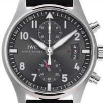 IWC Fliegeruhr Spitfire Chronograph Stahl 43mm Grau Deutschland, Stuttgart