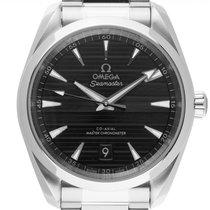 Omega 220.10.38.20.01.001 Acier 2021 Seamaster Aqua Terra 38mm nouveau