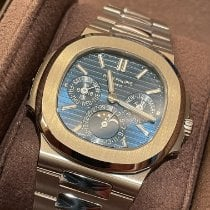 Patek Philippe Nautilus White gold 40mm Blue No numerals Australia, NORTH WILLOUGHBY