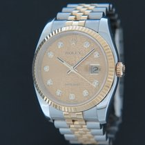 Rolex Datejust 116233 Very good Gold/Steel 36mm Automatic