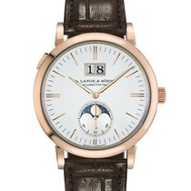 A. Lange & Söhne Rose gold Automatic White 40mm new Saxonia