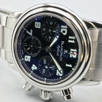 Blancpain Léman Fly-Back new 2010 Automatic Chronograph Watch with original box and original papers 2385F-1130-71