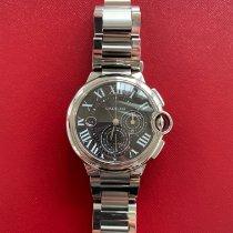 Cartier Ballon Bleu 44mm подержанные 44mm Черный Хронограф Дата Сталь