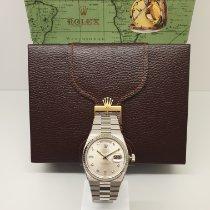 Rolex 19019 Witgoud 1980 Day-Date Oysterquartz 36mm tweedehands