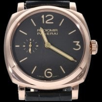 Panerai Radiomir 1940 Or rose 42mm Brun Arabes Belgique, Brussel