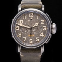 Zenith Pilot Type 20 Steel 45mm Grey Arabic numerals