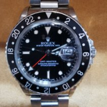 Rolex 16700 Steel 1987 GMT-Master 40mm pre-owned