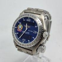 Breitling Emergency Titanium 43mm Blue Arabic numerals