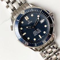 Omega Seamaster Diver 300 M occasion 36mm Bleu Date Acier