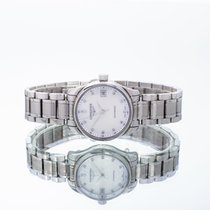 Longines Master Collection pre-owned 25.5mm Mother of pearl Date Steel