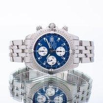 Breitling Chronomat Evolution Acero 44mm Azul