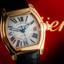 Cartier 2524 Yellow gold Roadster 37mm pre-owned