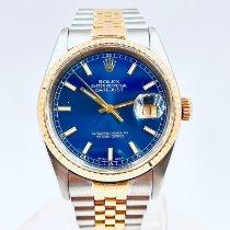 Rolex 16233 Золото/Cталь 1991 Datejust 36mm подержанные