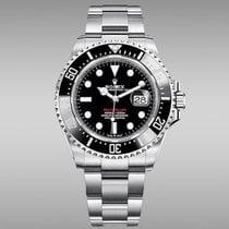 Rolex Sea-Dweller Stål 43mm Svart Inga siffror