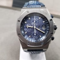 Audemars Piguet Royal Oak Offshore Chronograph Acciaio 42mm Blu Senza numeri Italia, Castellanza (VA)