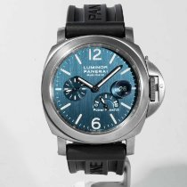 Panerai Luminor Power Reserve Titanium 44mm Blue Arabic numerals United States of America, Massachusetts, Boston