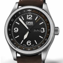 Oris Royal Flying Doctor Service Limited Edition Stahl 45mm Schwarz Arabisch