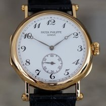 Patek Philippe Calatrava Yellow gold 33mm White