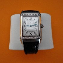 Jaeger-LeCoultre Reverso Duetto Duo Weißgold 240mm Silber Arabisch