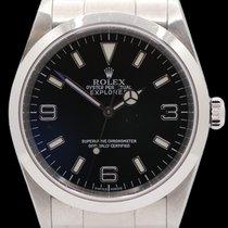Rolex Explorer Stahl 36mm Schwarz Arabisch Deutschland, Spaichingen