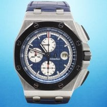Audemars Piguet 26401PO.00.A018CR.01 Platinum 2016 Royal Oak Offshore Chronograph 44mm pre-owned United States of America, New York, New York