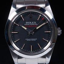 Rolex Milgauss Сталь 38mm Черный Без цифр