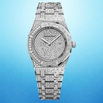 Audemars Piguet Royal Oak Lady White gold 33mm Gold No numerals United States of America, New York, New York