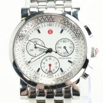 Michele White gold Automatic White pre-owned Sport Sail