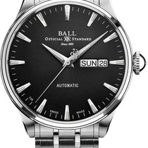 Ball Trainmaster Eternity Steel 39.5mm Black No numerals United States of America, New Jersey, River Edge